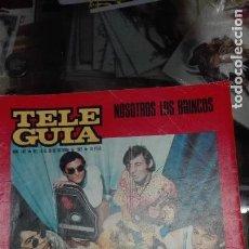 Revistas de música: TELEGUIA N 142 LOS BRINCOS. Lote 98436071