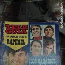 Revistas de música: TELEGUIA N 179 RAPHAEL LOS CANARIOS . Lote 98436435