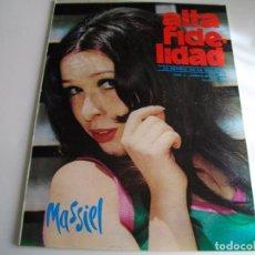Revistas de música: MITICA REVISTA ALTA FIDELIDAD Nº 11 AÑO 1966 LA DE LAS FOTOS VER TODAS MIS REVISTAS DE MUSICA. Lote 98470079