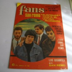 Revistas de música: PRECIOSA REVISTA MUSICAL FANS 89 POSTER CENTRAL MIKE DE LOS BRAVOS VER TODAS MIS REVISTAS DE FANS. Lote 98470839
