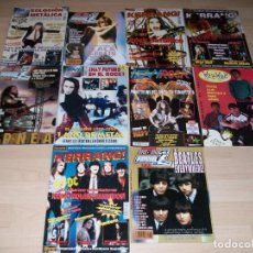 Revistas de música: HEAVY ROCK. KERRANG. POPULAR 1. WAH WAH. LOTE 10 REVISTAS MUSICALES.. Lote 98508247