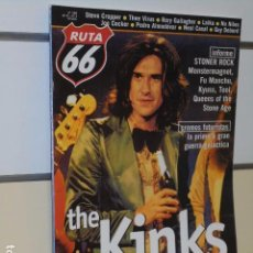 Revistas de música: REVISTA RUTA 66 Nº 159 THE KINKS. Lote 98584663