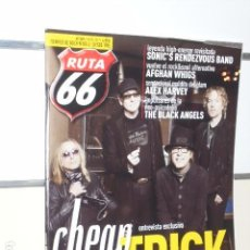 Revistas de música: REVISTA RUTA 66 Nº 349 JUNIO 2017 CHEAP TRICK. Lote 98585527