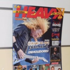 Revistas de música: LA HEAVY Nº 395 35 AÑOS 1982 - 2017. Lote 98585779