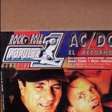 Revistas de música: POPULAR 1. 317 / MARZO 2000 / AC/DC EL RETORNO / FISHBONE / LITTLE STEVEN Y OTROS.. Lote 98644127
