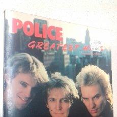 Revistas de música: POLICE - GREATEST HITS BOOK - 1984. Lote 98718662