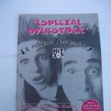 Revistas de música: ESPECIAL OVERSTOCK. HIT XOP. TDKR50. Lote 99218227