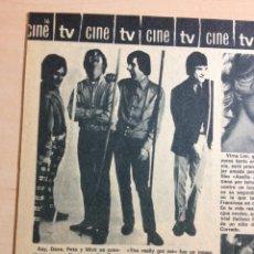 Revistas de música: THE KINKS - ROMÁNTICA AÑOS 60. Lote 99247544