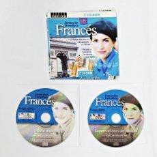 Revistas de música: INMERSION INMEDIATA FRANCÉS EN 2 CD-ROM. TOPICS ENTERTAINMENT.. Lote 99385403