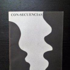 Revistas de música: CON-SECUENCIAS FANZINE-REVISTA DEL GRUPO INTERACCIÓN (MADRID) LETRAS Y TRABAJOS GRÁFICOS. Lote 99531267