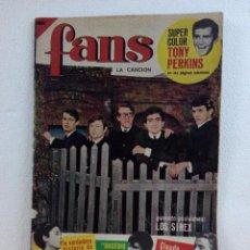 Revistas de música: REVISTA MUSICAL FANS Nº9 AÑO 1965. Lote 99905883