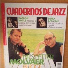Revistas de música: CUADERNOS DE JAZZ - AÑO XII - Nº 72 (SEPTIEMBRE OCTUBRE 2002). Lote 100376323
