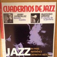 Revistas de música: CUADERNOS DE JAZZ - AÑO XI - Nº 64 (MAYO JUNIO 2001). Lote 100376423