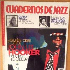 Revistas de música: CUADERNOS DE JAZZ - AÑO XI - Nº 66 (SEPTIEMBRE OCTUBRE 2001). Lote 100377871
