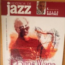 Revistas de música: CUADERNOS DE JAZZ - AÑO XV - Nº 90 (SEPTIEMBRE OCTUBRE 2005). Lote 100378447