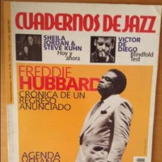 Revistas de música: CUADERNOS DE JAZZ - AÑO XI - Nº 65 (JULIO AGOSTO 2001). Lote 100378547