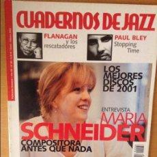 Revistas de música: CUADERNOS DE JAZZ - AÑO XII - Nº 68 (ENERO FEBRERO 2002). Lote 100378835