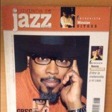Revistas de música: CUADERNOS DE JAZZ - AÑO XIV - Nº 83 (JULIO AGOSTO 2004). Lote 100379219