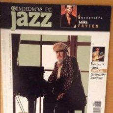 Revistas de música: CUADERNOS DE JAZZ - AÑO XIV - Nº 84 (SEPTIEMBRE OCTUBRE 2004). Lote 100379439