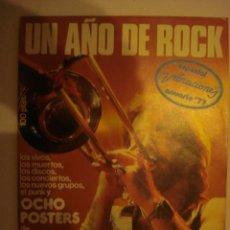 Revistas de música: REVISTA MUSICAL , ESPECIAL VIBRACIONES ANUARIO 77 - ENERO 1978, CONTIENE TODOS LOS POSTER. Lote 101324471