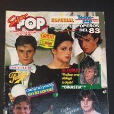 Revistas de música: REVISTA SUPERPOP SUPER POP NUMERO Nº 132 MECANO MIGUEL BOSE BERTIN OSBORNE. Lote 262697265