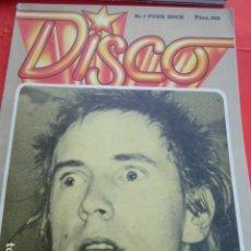 Revistas de música: PUNK ROCK N.7 REVISTA DISCO NO PONE FECHA MUY RARA. Lote 102569411