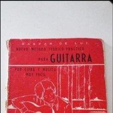 Revistas de música: MÉTODO DE GUITARRA. Lote 102648739