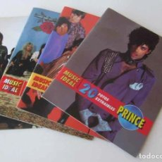 Revistas de música: CUATRO REVISTAS MUSIC IDEAL: PRINCE, GUNS N'ROSES, DEEP PURPLE, PINK FLOYD. Lote 102957323