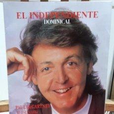 Revistas de música: PAUL MCCARTNEY - BEATLES - REVISTA EL INDEPENDIENTE DOMINICAL- EXCELENTE - 66 PAGINAS. Lote 103435763