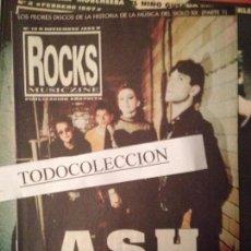Revistas de música: ROCKS MUSICZINE 19 NOV 1998: ASH, BAD RELIGION, GIRASOULES, SURDO,OFFSPRING,PURR,SEPULTURA. Lote 103480227