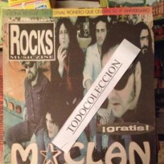 Revistas de música - ROCKS MUSICZINE 7 JUL 1997 M CLAN,BEN HARPER, CLANDESTINOS,SEAHORSES,JOHN SPENCER,GUN - 103481287