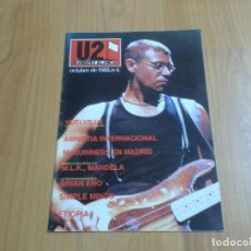 Revistas de música: U2 BANDERA BLANCA Nº 4 - REVISTA - MADRID 1987 - POSTER CENTRAL LARRY MULLEN - FANZINE - M.L.K.. Lote 103633991