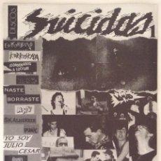Revistas de música: DISCOS SUICIDAS. BOLETÍN NÚMERO 1. Lote 103771215