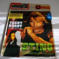 Revistas de música: REVISTA EL GRAN MUSICAL - Nº 291 - 1988 - SADE, PRINCE, STING , MICHAEL JACKSON LA DE LAS FOTOS . Lote 103833891