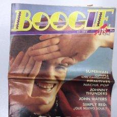Revistas de música: REVISTA BOOGIE Nº 2 NOVIEMBRE 1988. Lote 103971607