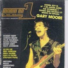 Revistas de música: REVISTA POPULAR 1 Nº 131 MAYO 1984. Lote 104034227
