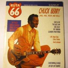 Revistas de música: REVISTA MUSICAL RUTA 66 Nº22 OCTUBRE 1987 CHUCK BERRY. Lote 104394627