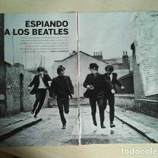 Revistas de música: THE BEATLES JOHN LENNON GEORGE HARRISON RINGO STARR PAUL MCCARTNEY LOTE REPORTAJES DE LOS 90 A 2010. Lote 104432195