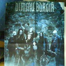 Revistas de música: DIMMU BORGIR RARO LOTE 4 POSTER + SET REPORTAJES DESDE LOS 90S A 2010. Lote 104449535