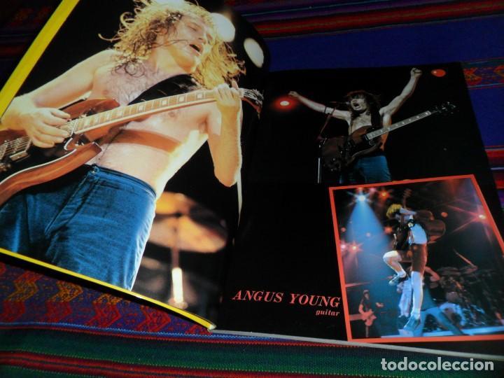 Revistas de música: EN INGLÉS. AC DC AC/DC HEAVY METAL PHOTO BOOK. OMNIBUS PRESS 1983. 128 PGNS ALUCINANTES. - Foto 3 - 104617831