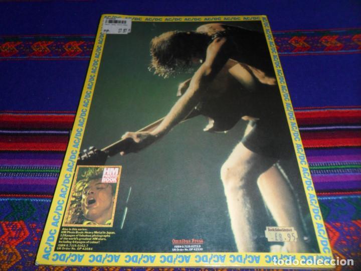 Revistas de música: EN INGLÉS. AC DC AC/DC HEAVY METAL PHOTO BOOK. OMNIBUS PRESS 1983. 128 PGNS ALUCINANTES. - Foto 14 - 104617831