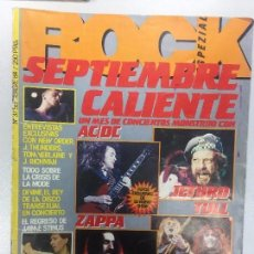 Revistas de música: ROCK SPEZIAL NO 37 SEPTIEMBRE 1984 NEW ORDER AC/DC FRANK ZAPPA JOHNNY THUNDERS. Lote 104053299
