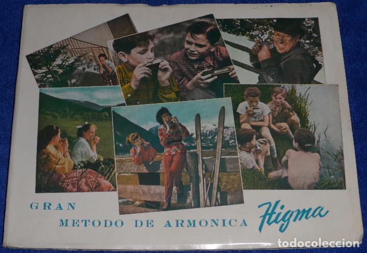 GRAN MÉTODO DE ARMÓNICA - HIGMA (1958) (Música - Revistas, Manuales y Cursos)