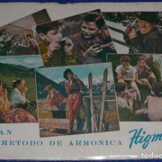 Revistas de música: GRAN MÉTODO DE ARMÓNICA - HIGMA (1958). Lote 104979839