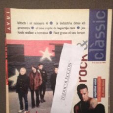 Revistas de música: ROCK & CLASSIC 8-03-95 RADIOHEAD,KITSCH,LAGARTIJA NICK,SEGURIDAD SOCIAL,GANSOS,J.L.WALKER. Lote 105713075