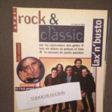 Revistas de música: ROCK & CLASSIC 12-4-95 LAX'N'BUSTO,KIKO VENENO,PIXIES, GOTICS,CARAOSCURA,PRINCE. Lote 105717367