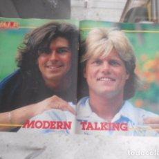 Revistas de música: POSTER DE LA REVISTA VALE - MODERN TALKING. Lote 105720691