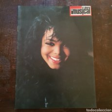 Revistas de música: ESPECIAL JANET JACKSON DE LA REVISTA EL GRAN MUSICAL. Lote 105870120