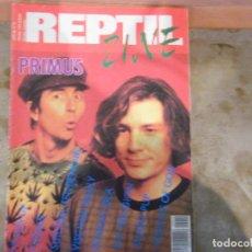 Revistas de música: REPTIL ZINE-Nº 9-1991-PRIMUS-HEADS UP-FUGAZI-SUICIDALTENDENCIS-VISCTIMS FAMILY-POISON IDEA... Lote 105899675