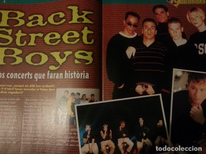 Revistas de música: Backstreet boys (Nick carter) Colección de artículos, reportajes y revista - Foto 4 - 172146552